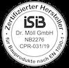 ISIB Zertifizierter Hersteller logo
